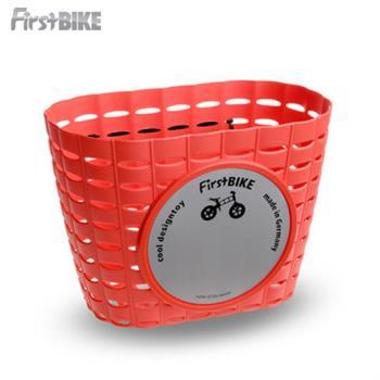 【FirstBike】 兒童滑步車/學步車 原廠車前小籃子(紅)