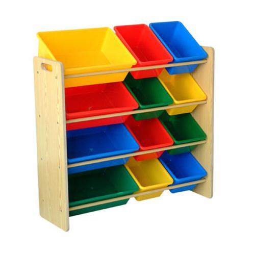 【孩子國】四層玩具收納架-熱銷新品-