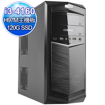 |華碩平台|狂舞樂章 intel i3-4160雙核 730獨顯 120G固態碟 Win10燒錄桌上型電腦