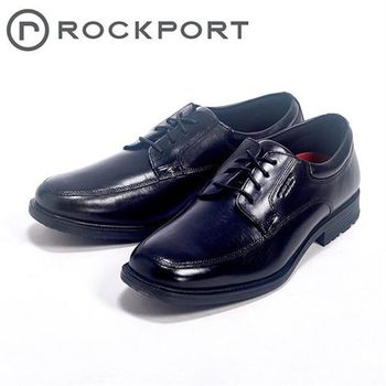 【Rockport】都會雅仕系列/ ESSENTIAL DETAILS 綁帶皮鞋男鞋-黑