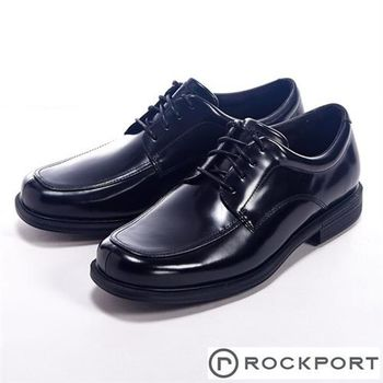 【Rockport】EDITORIAL OFFICES 都會雅仕繫帶牛津皮鞋男鞋-黑
