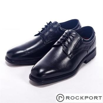 【Rockport】時尚優雅系列繫帶牛津皮鞋男鞋-黑