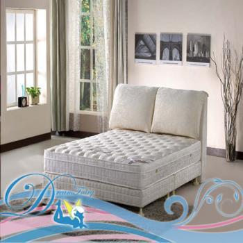 [睡夢精靈]森林系 天堂鳥鑽石級乳膠三線獨立筒床墊單人加大3.5尺