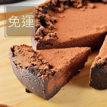 【艾波索】 奧斯卡生巧克力派 6吋