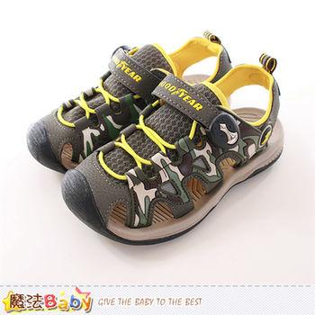 魔法Baby 男童運動鞋 水陸兩用護趾運動鞋~sa68615