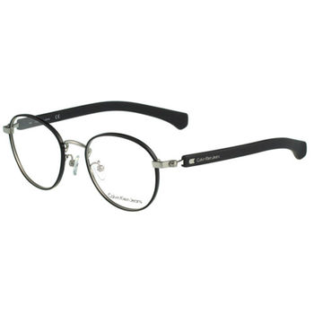 Calvin Klein- 復古圓框光學眼鏡(黑色)