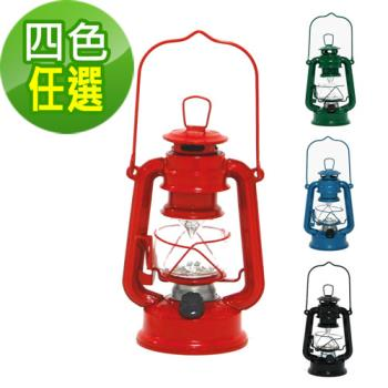 【韓國熱銷】復古油燈型LED營燈 (四色任選)