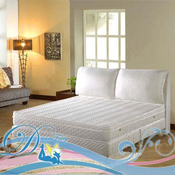 【睡夢精靈】森林系野薔薇黃金級蜂巢式獨立筒床墊雙人加大6尺