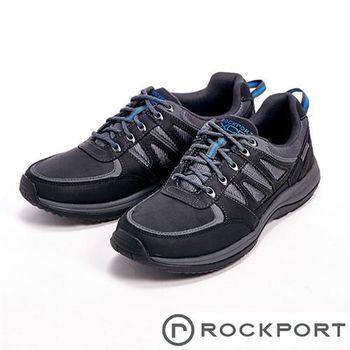 【Rockport】XCS URB GEAR WP 全防水系列休閒男鞋-黑