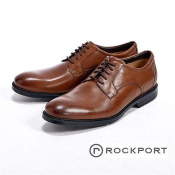 【Rockport】超輕量輕盈系列/Tan II Lea綁帶男皮鞋-棕(另有黑)