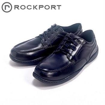 【Rockport】城市玩家系列 / ROCKER LANDING II 綁帶休閒男鞋-黑