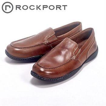【Rockport】城市玩家系列 / ROCKER LANDING II 直套半休閒男鞋-咖
