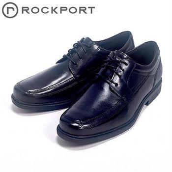 【Rockport】STYLE TIP都會雅仕系列時尚綁帶男皮鞋-黑