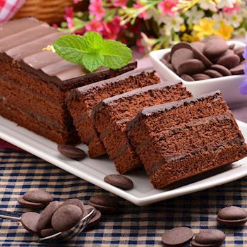 【艾波索】 巧克力黑金磚-18公分