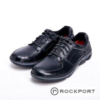 【Rockport】全防水系列 綁帶休閒鞋 男鞋-黑