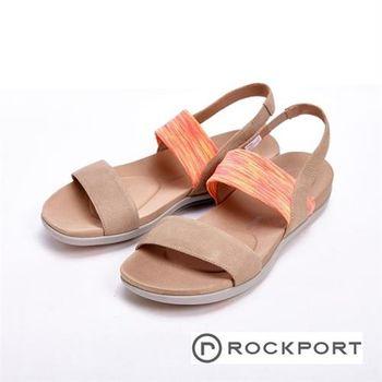 【Rockport】繽紛涼夏款 休閒涼拖鞋 女鞋-粉(紫、藍)