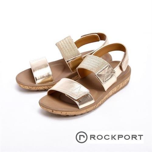 【Rockport】都會雅仕系列 涼夏休閒款涼拖鞋 女鞋- 銀色