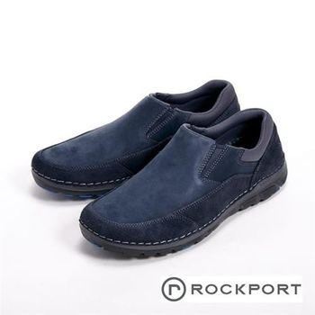 【Rockport】超輕量輕盈系列 休閒男鞋-深藍色