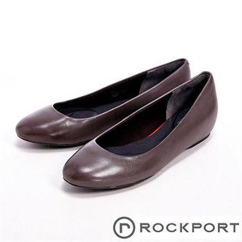 【Rockport】全方位動能系列 / TMHW20 PLAIN PUMP 隱藏式楔型女跟鞋-灰