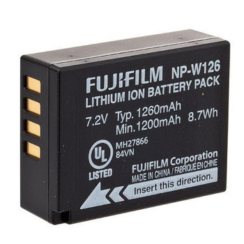 FUJIFILM 富士 NP-W126 原廠鋰電池 原廠電池(恆昶公司貨)NP W126 NPW126