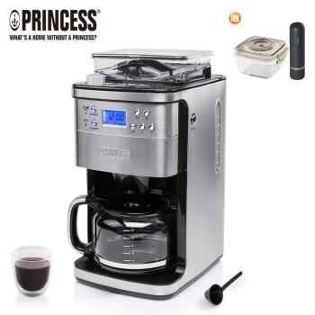 送椒鹽罐組《PRINCESS荷蘭公主》全自動智慧型美式咖啡機249406