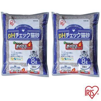 【IRIS】 日本 健康貓砂-尿道結石專用(KCM-80) 8L x 2包