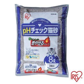 【IRIS】 日本 健康貓砂-尿道結石專用(KCM-80) 8L x 1包