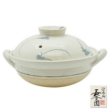 【日本長谷園伊賀燒】優風花個人蒸煮陶鍋