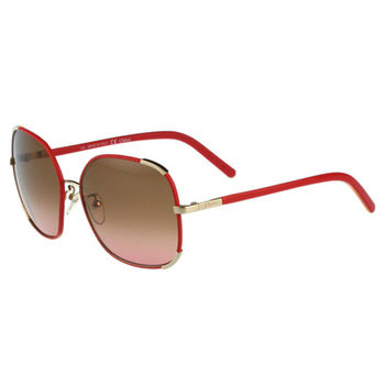 CHLOE太陽眼鏡 方框(紅色)CE109SL