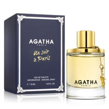 Agatha 傾慕巴黎女性淡香水(50ml)-送品牌洗髮精&紙袋