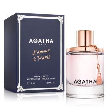 Agatha 真愛巴黎女性淡香水(50ml)-送品牌洗髮精&紙袋