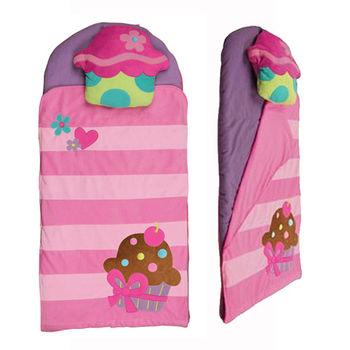 【Stephen Joseph】兒童造型睡袋-甜心蛋糕