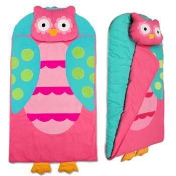 【Stephen Joseph】兒童造型睡袋-花花貓頭鷹
