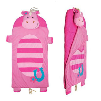 【Stephen Joseph】兒童造型睡袋-花花馬