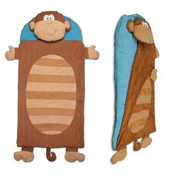 【Stephen Joseph】兒童造型睡袋-快樂小猴