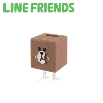LINE FRIENDS 立體 QQ 1A 輕巧USB充電器 LN-CR04