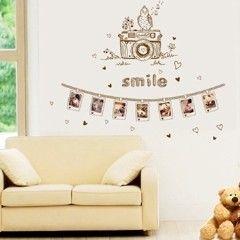 窩自在★DIY無痕創意牆貼壁貼-記憶照片牆_AY9203(60X90)