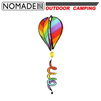 【NOMADE】諾曼得旋轉彩色熱氣球帳篷裝飾