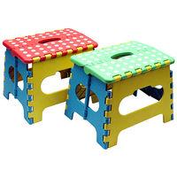 色彩繽紛小摺疊椅2入 組 SR~166X2