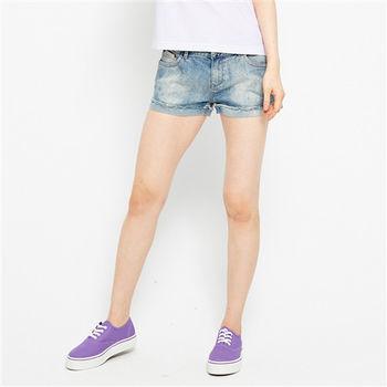 TOP GIRL 盛夏日之性感反折牛仔短褲 -共二色