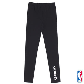 NBA - 素色隊名百搭內搭褲 (女) 五款任選
