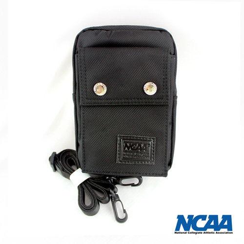 NCAA 防潑水三用途側背包(小)-黑色