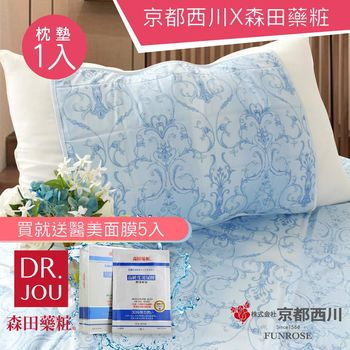 【京都西川】日本熱銷 涼墊/酷涼枕墊 Ice gel pad/冷凝枕頭墊(1入)
