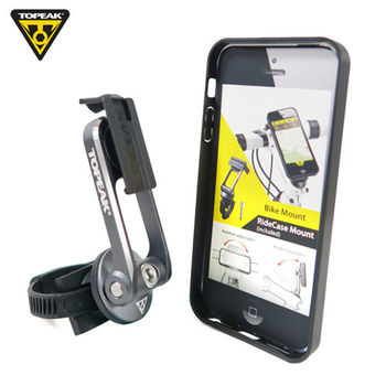 TOPEAK RideCase iPhone 5/5S用 智慧型手機保護殼-黑