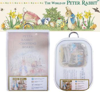 【彼得兔Peter Rabbit】奈米銀技術處理砧板兩入組(橢圓+方形)