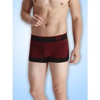 BVD 型男立體無縫四角褲
