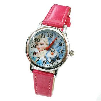 【迪士尼】FROZEN冰雪奇緣兒童錶卡通錶-艾莎雪寶