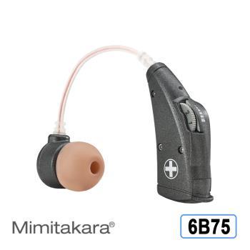 元健大和助聽器(未滅菌) 日本耳寶 電池式耳掛型助聽器 6B75晶鑽黑