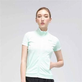 【TOP GIRL】俐落剪裁POLY針織外套-淺綠