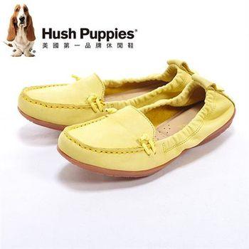Hush Puppies Casual Ceil Slip On 精典長青便鞋舒適休閒女鞋-黃